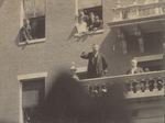 President Theodore Roosevelt Giving Speech from Bangor House on August 27, 1902
