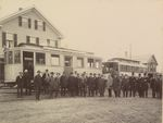Penobscot Central Railroad Opening 1898 #1
