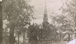 Hammond Street Congregational Church Corner of Hammond and High Streets, Bangor, Maine circa 1894-1900