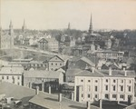 Park Street Hill View Taken from City Hall Tower, Bangor, Maine, circa 1900
