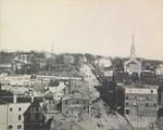 State Street from City Hall Tower, Bangor, Maine, circa 1900
