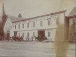 Bangor House Coach Stable, 215-221 Main Street, Bangor, Maine, circa 1895-1909