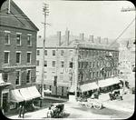 Hammond and Central Streets Bangor Maine circa 1887-1895