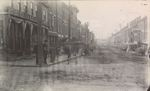 State and Exchange Street, Bangor Maine circa 1887-1899