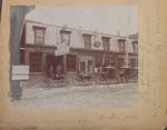 Whiton's Carriage Repository, 60 Harlow Street, Bangor Maine circa 1890-1900
