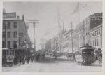 Main Street at West Market Square, Bangor, Maine, Circa 1889 to 1895