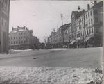 Main Street at West Market Square, Bangor, Maine, Circa 1889 to 1895 #2
