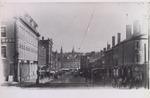 Main Street at Corner of Middle Street, Bangor, Maine, Circa 1889-1891