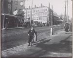 Lower State Street and the Granite Block on Park Street, Bangor, Maine, Circa 1887-1892