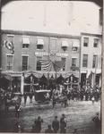Near 72 & 76 Main Street, Bangor, Maine, Circa 1893, People Waiting for Parade #2
