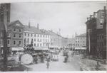 West Market Square Looking North, Bangor, Maine, Circa 1895