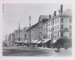 Main Street and Hammond Street Intersection, Bangor, Maine, Circa 1891-1894