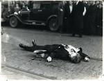 Clarence Lee Shaeffer dead on the street