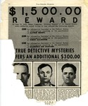 Wanted - Reward poster for the Brady Gang