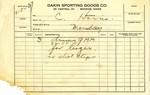 Receipt for Dalhover by Shep Hurd