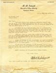 Letter from Robert D. Schmidt of Cass County, Indiana