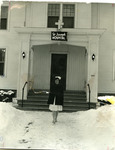 St. Joseph Hospital front entrance, Bangor, ca.1955
