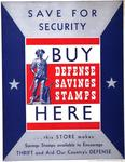 Save For Security, Buy Defense Savings Stamps Here