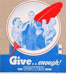 Give ... Enough! The United Way
