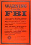 Warning from the FBI