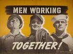 Men Working Together