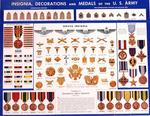 Insignia Decorations and Medals of the U.S. Army