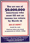 You Are One Of 50,000 Americans...