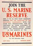 Join the U. S. Marine Reserve
