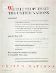 We The Peoples Of The United Nations