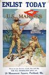Enlist Today U. S. Marines