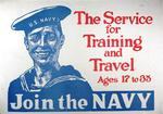The Service For Training and Travel by James Montgomery Flagg