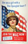 Are You a Girl With a Star Spangled Heart? Join the WAC Now!