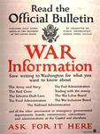 Read the Official Bulletin, War Information