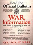 Read the Official Bulletin, War Information