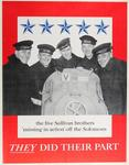 """The Five Sullivan Brothers, """"Missing In Action"""" Off The Solomons, They Did Their Part"""