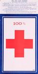 100% ... Only Red Cross Members by unknown