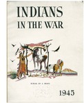 Indians in the war: burial of a brave