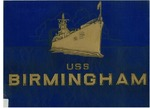 The saga of the U.S.S. Birmingham: a compilation of her officers & men by United States Navy