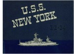 The history of the U.S.S. New York, BB-34