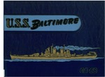The history of the U.S.S. Baltimore, CA-68 by United States Navy